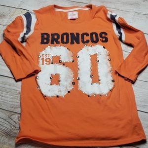VS Pink Denver Broncos shirt